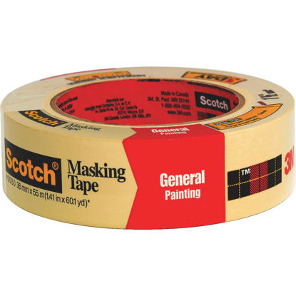 Picture of 3M Scotch 1.41 x 60.1 Yd. General Painting Masking Tape