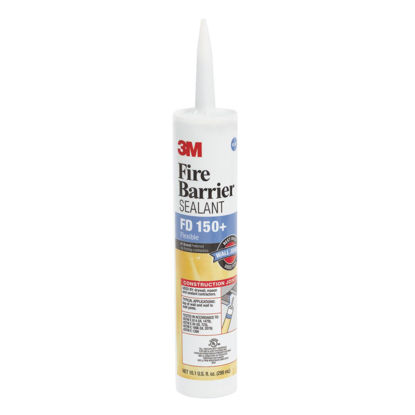 Picture of 3M 10.1 Oz. Fire Barrier Sealant, Limestone