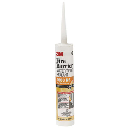 Picture of 3M 10.1 Oz. Fire Barrier Water Tight Sealant, Gray