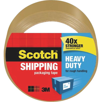Picture of Scotch 1.88 In. X 54.6 Yd. High Performance Tan Packaging Tape