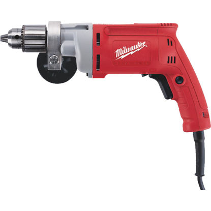 Picture of Milwaukee Magnum 1/2 In. 8-Amp Keyed Electric Drill with Textured Grip