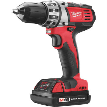 Picture of Milwaukee M18 18 Volt Lithium-Ion 1/2 In. Compact Cordless Drill Kit