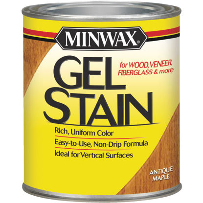 Picture of Minwax Gel Stain, Antique Maple, 1 Qt.