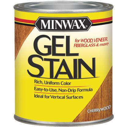 Picture of Minwax Gel Stain, Cherrywood, 1/2 Pt.