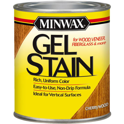 Picture of Minwax Gel Stain, Cherrywood, 1 Qt.