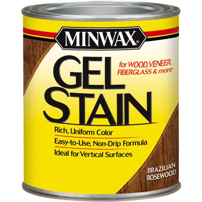 Picture of Minwax Gel Stain, Brazilian Rosewood, 1 Qt.