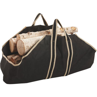 Picture of Home Impressions 35-1/2 In. W x 22 In. H Canvas Log Carrier