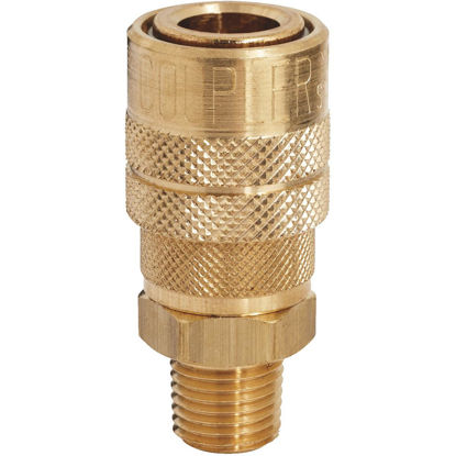 Picture of Milton Kwik Change M-Style 1/4 In. Male NPT Coupler