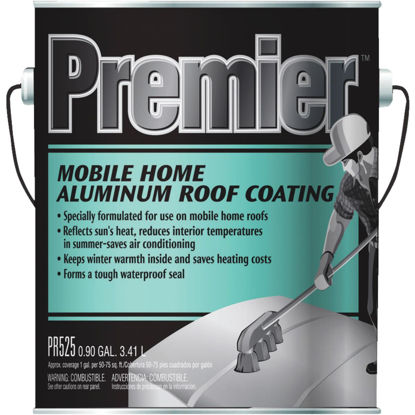 Picture of Premier 525 1 Gal. Mobile Home Aluminum Roof Coating