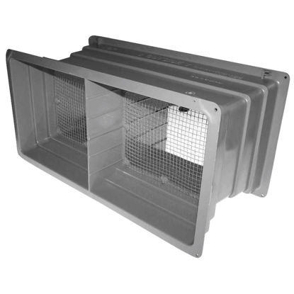 Picture of NorWesco DLX 8 In. x 16 In. Plastic Manual Foundation Vent