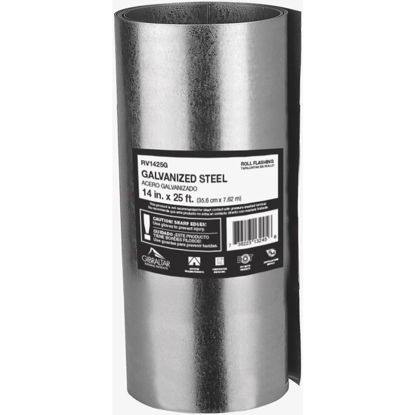 Picture of NorWesco 14 In. x 25 Ft. Mill Galvanized Roll Valley Flashing