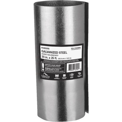 Picture of NorWesco 20 In. x 25 Ft. Mill Galvanized Roll Valley Flashing