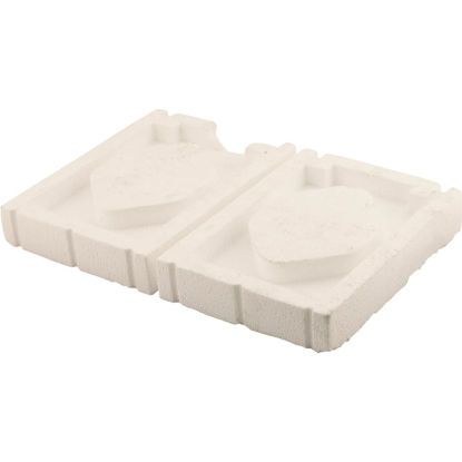 Picture of NorWesco 6-1/2 In. x 8-3/4 In. Automatic Vent Foam Plug (2 Count)