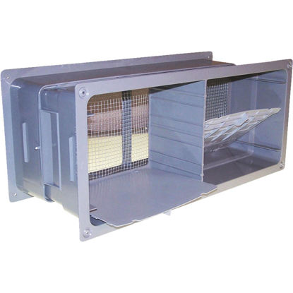 Picture of NorWesco 7-1/4 In. x 18-1/2 In. Adjustable Foundation Vent with Damper
