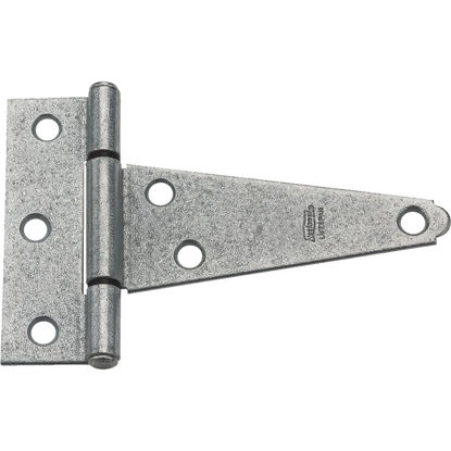 Picture of National 4 In. Galvanized Steel Heavy-Duty Tee Hinge