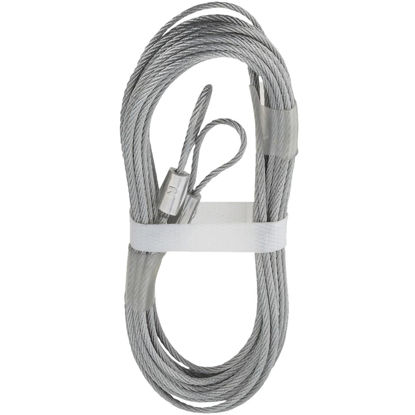 Picture of National 3-32 In. Dia. x 12 Ft. L. Garage Door Extension Spring Lift Cable (2 Count)