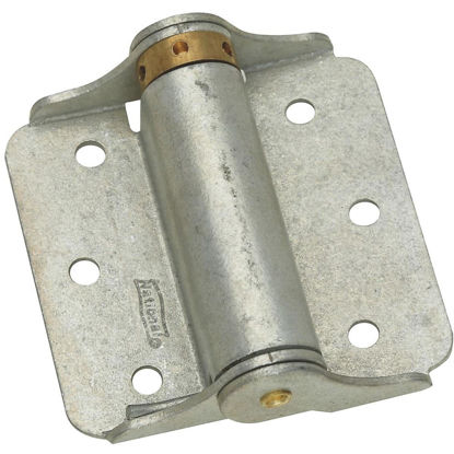 Picture of National 3 In. Galvanized Full-Surface Spring Door Hinge (2-Pack)