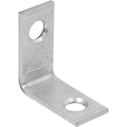 Picture of National Catalog 115 1 In. x 1/2 In. Zinc Corner Brace