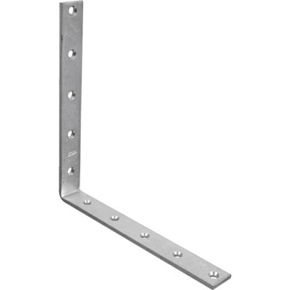 Picture of National Catalog 115 10 In. x 1/4 In. Zinc Corner Brace