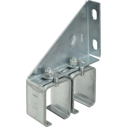 Picture of National Galvanized Double Splice Box Rail Barn Door Bracket