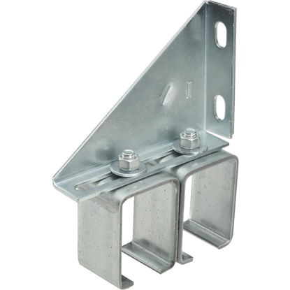 Picture of National Galvanized Double Box Rail Barn Door Bracket