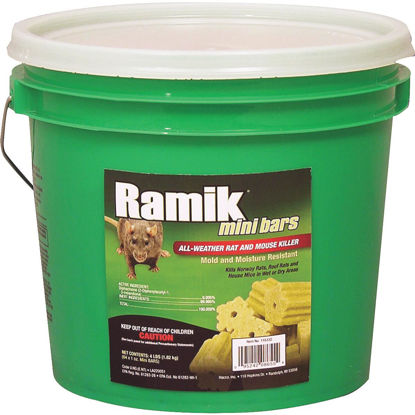 Picture of Ramik Bar Rat And Mouse Poison (64 per Pail)