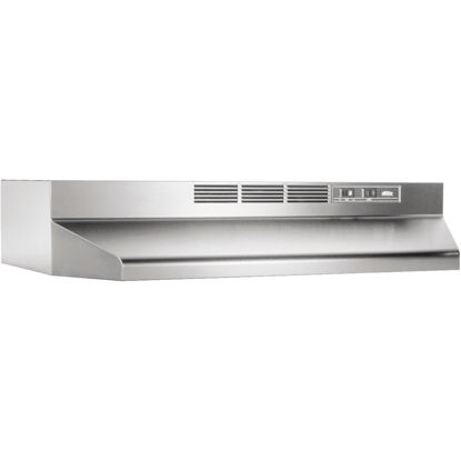 Picture of Broan-Nutone 41000 Series 36 In. Non-Ducted Stainless Steel Range Hood