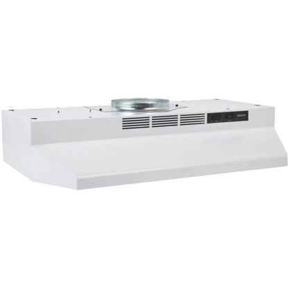 Picture of Broan-Nutone F Series 30 In. Convertible White Range Hood
