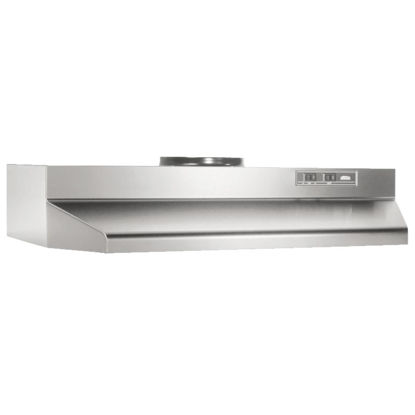 Picture of Broan-Nutone F Series 30 In. Convertible Stainless Steel Range Hood