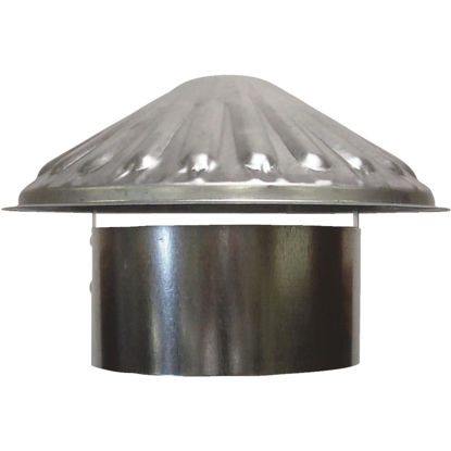 Picture of S & K Galvanized Steel 6 In. x 9-1/2 In. Vent Pipe Cap