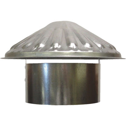 Picture of S & K Galvanized Steel 5 In. x 9-1/2 In. Vent Pipe Cap
