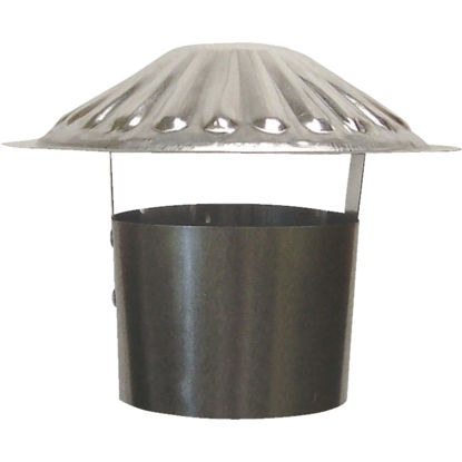 Picture of S & K Galvanized Steel 4 In. x 6-3/4 In. Vent Pipe Cap