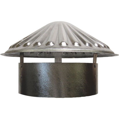 Picture of S & K Galvanized Steel 8 In. x 11 In. Vent Pipe Cap