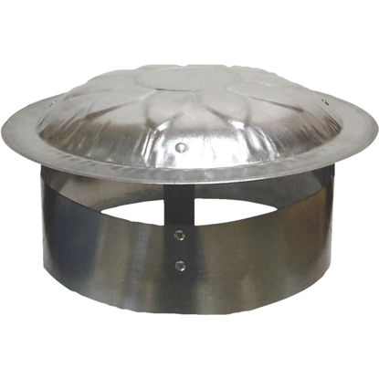 Picture of S & K Galvanized Steel 9 In. x 12 In. Vent Pipe Cap