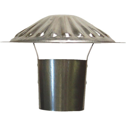 Picture of S & K Galvanized Steel 3 In. x 6-3/4 In. Vent Pipe Cap