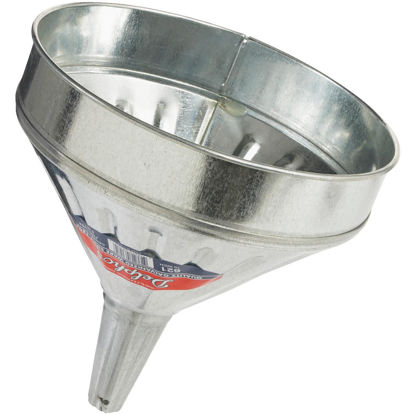 Picture of Delphos Heavy-Duty 6 Qt. Galvanized Steel Funnel with Center Spout