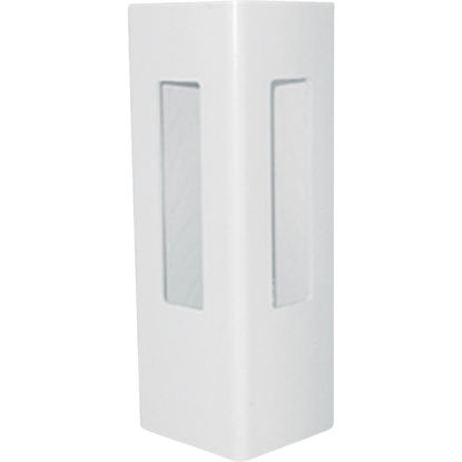 Picture of Outdoor Essentials 5 In. x 5 In. x 60 In. White Corner 2-Rail Fence Vinyl Post