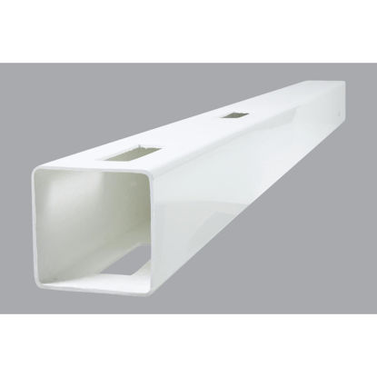 Picture of Outdoor Essentials 5 In. x 5 In. x 60 In. White Line 2-Rail Fence Vinyl Post