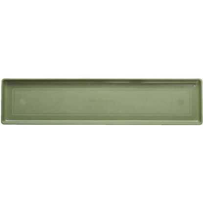 Picture of Novelty 30 In. Sage Plastic Flower Box Tray