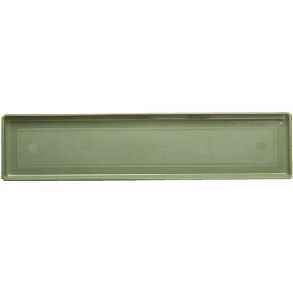 Picture of Novelty 24 In. Sage Plastic Flower Box Tray