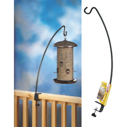 Picture of Stokes Select 33 In. Black Deck Clamp Bird Feeder Hook