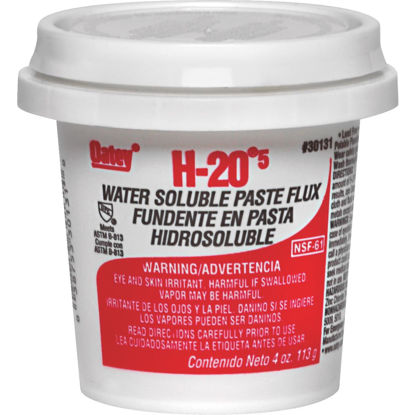 Picture of Oatey H-205 8 Oz. Water Soluble Soldering Flux, Paste