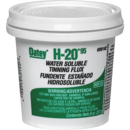 Picture of Oatey H-2095 8 Oz. Water Soluble Tinning Flux, Paste