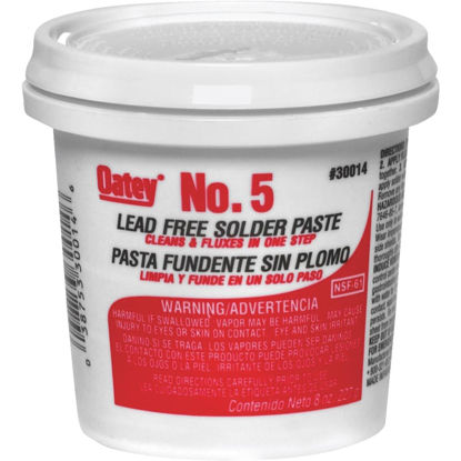 Picture of Do it Best No. 5 8 Oz. Lead-Free Soldering Flux, Paste