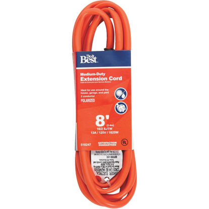 Picture of Do it Best 8 Ft. 16/2 Polarized Outdoor Extension Cord