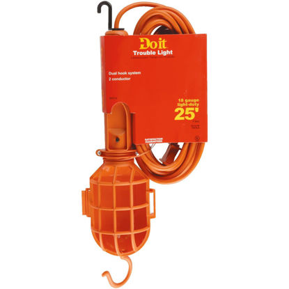 Picture of Do it 75W Incandescent Trouble Light with 25 Ft. Power Cord