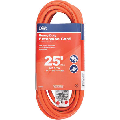 Picture of Do it Best 25 Ft. 14/3 Heavy-Duty Outdoor Extension Cord