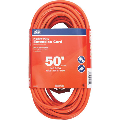 Picture of Do it Best 50 Ft. 14/3 Heavy-Duty Outdoor Extension Cord