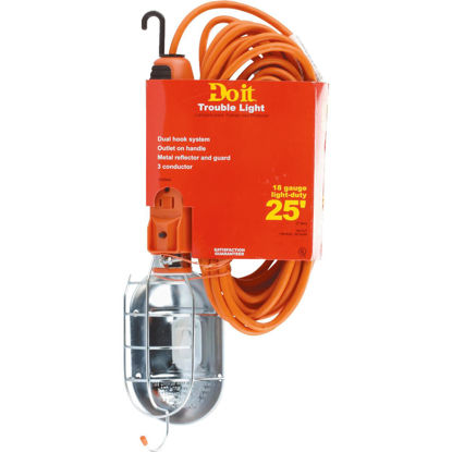 Picture of Do it Premium 75W Incandescent Trouble Light with 25 Ft. Power Cord
