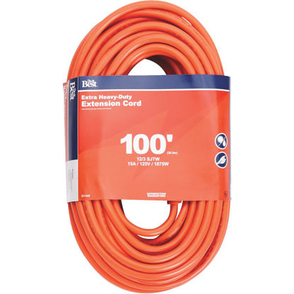 Picture of Do it Best 100 Ft. 12/3 Heavy-Duty Outdoor Extension Cord
